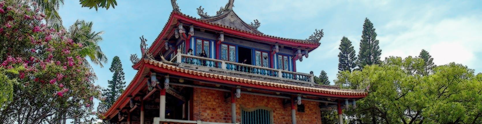 赤崁樓-此為臺南市政府文化局古蹟營運科形象廣告播放輪播