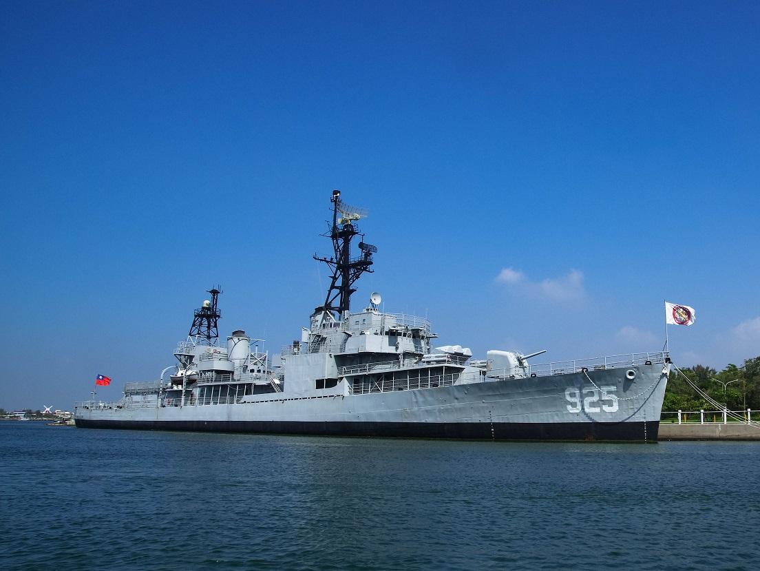全臺灣第一座戰艦博物館-安平定情碼頭德...