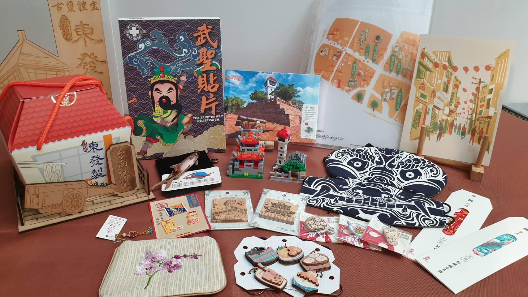 臺南市古蹟區銷售紀念商品徵選結果出爐